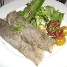 Galette De Bretagne (Buckwheat Crepes from Brittany, France)
