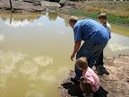 Pond on Cedar Mountain