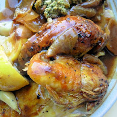 Engagement Roast Chicken (Barefoot Contessa)