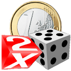 Coins and Dice 3D icon