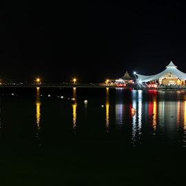 beautiful night by Eki Abian - City,  Street & Park  City Parks