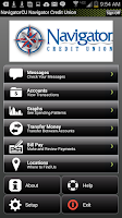 Screenshot of Navigator Credit Union