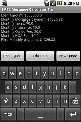 SMPL Mortgage Calculator Pro