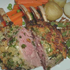 Roast Rack of Lamb With Persillade
