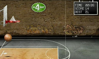 Screenshot of Basketball Free Throws