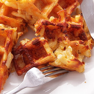 Macaroni and Cheese Waffles
