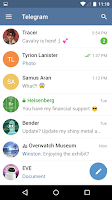 Screenshot of Telegram