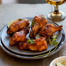 Honeyed Sriracha Chicken Wings