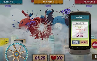 Screenshot of Shield Attack