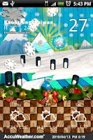 Screenshot of 9s-Weather Theme+(Christmas)