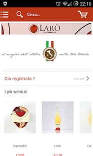 Larò e-Shop - screenshot