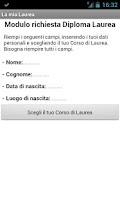 Screenshot of La mia Laurea