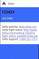 Screenshot of Frequent Flyer