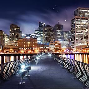 City by the Bay by Craig Bill - City,  Street & Park  Skylines (  )