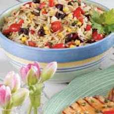 Herb Vegetable Orzo Salad