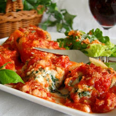 Spinach Stuffed Pasta Shells
