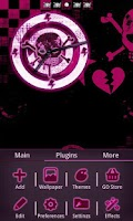 Screenshot of Emo Punk Go Launcher Ex