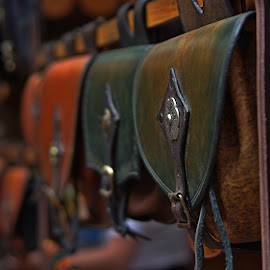 handcrafted leather bag! by Joseph Muller - Artistic Objects Clothing & Accessories ( handcrafted leather bag!,  )