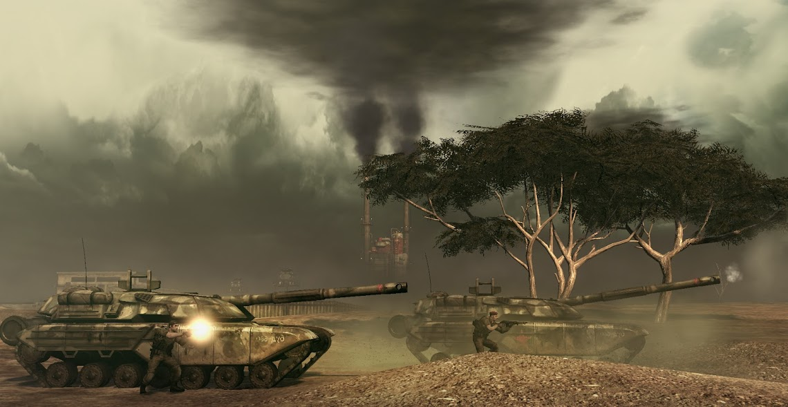 Developing Frontlines: Fuel of War