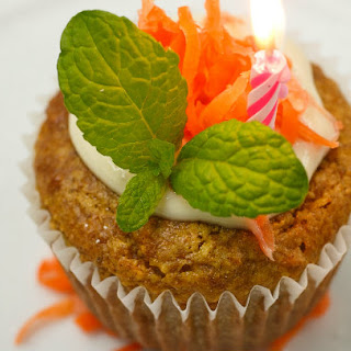 Chef Richard's Carrot Cupcakes