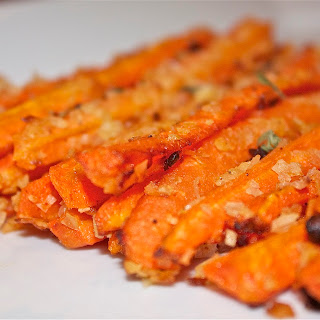 "Baked Carrot ""Fries"""