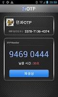 Screenshot of MOTP-Mobilians