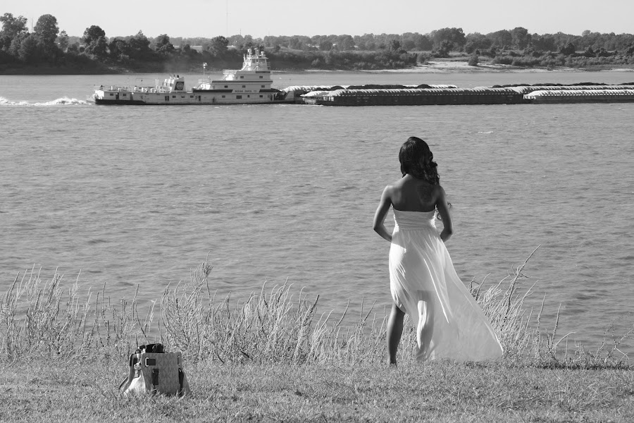 Mississippi Queen by Paul Hopkins - Black & White Portraits & People (  )