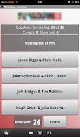 Screenshot of 1990s Movie Trivia: Actors