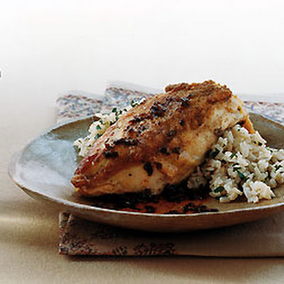 Crisp Chicken with Sherry-Vinegar Sauce