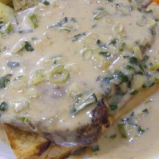Steaks With Whiskey Cream Sauce