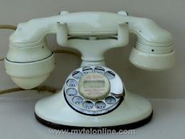 Cradle Phones - Western Electric 202 Ivory E Handset 1