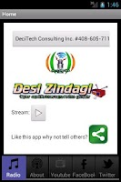 Screenshot of DesiZindagi