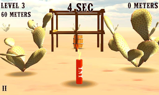 梯恩梯炸藥西部3D桶
