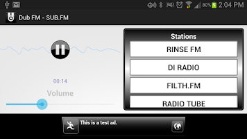 Screenshot of Dub FM