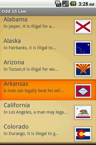 Odd US Law