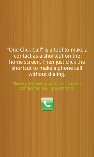 One Click Call