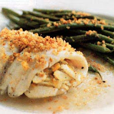 Crab-Meat-Stuffed Sole