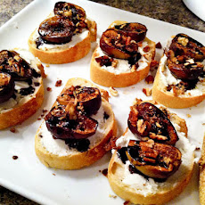 Fig & Goat Cheese Crostini