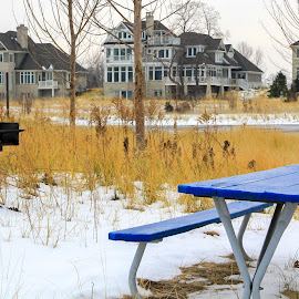 by Nalin Agarwal - Landscapes Weather ( winter, bench, snow, beach, barbecue,  )
