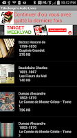 Screenshot of Audio Livres en Français