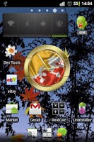 Screenshot of Bhutan flag clocks
