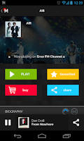 Screenshot of MPme Radio