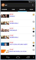 Screenshot of Haftalık TV Rehberi
