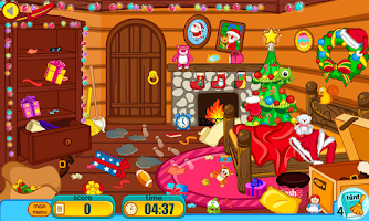 Screenshot of Clean up for santa claus
