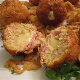 Chicken Cordon Bleu Bites
