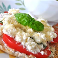 Ricotta and Tomato Sandwich