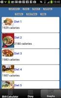 Screenshot of BMI Calculator Weight Tracker