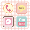 SweetPastel Theme GOLauncherEX icon