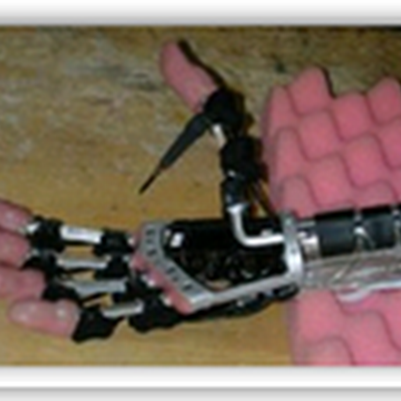 The bionic hand - Each finger can be moved separately