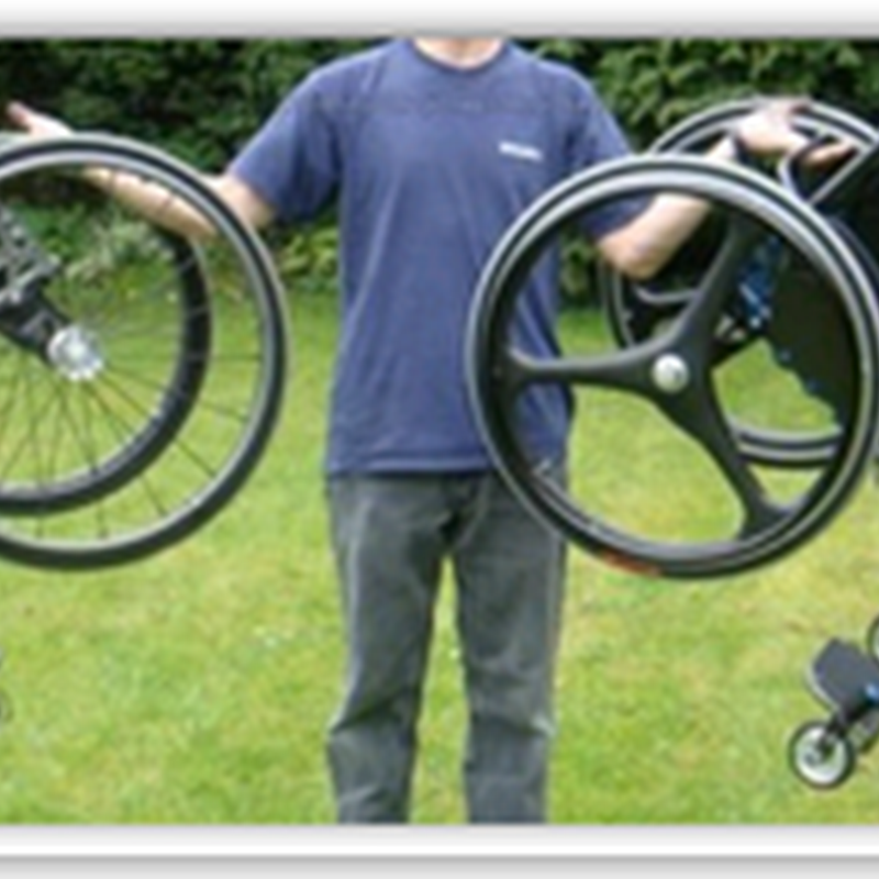 The World's Lightest Wheelchair